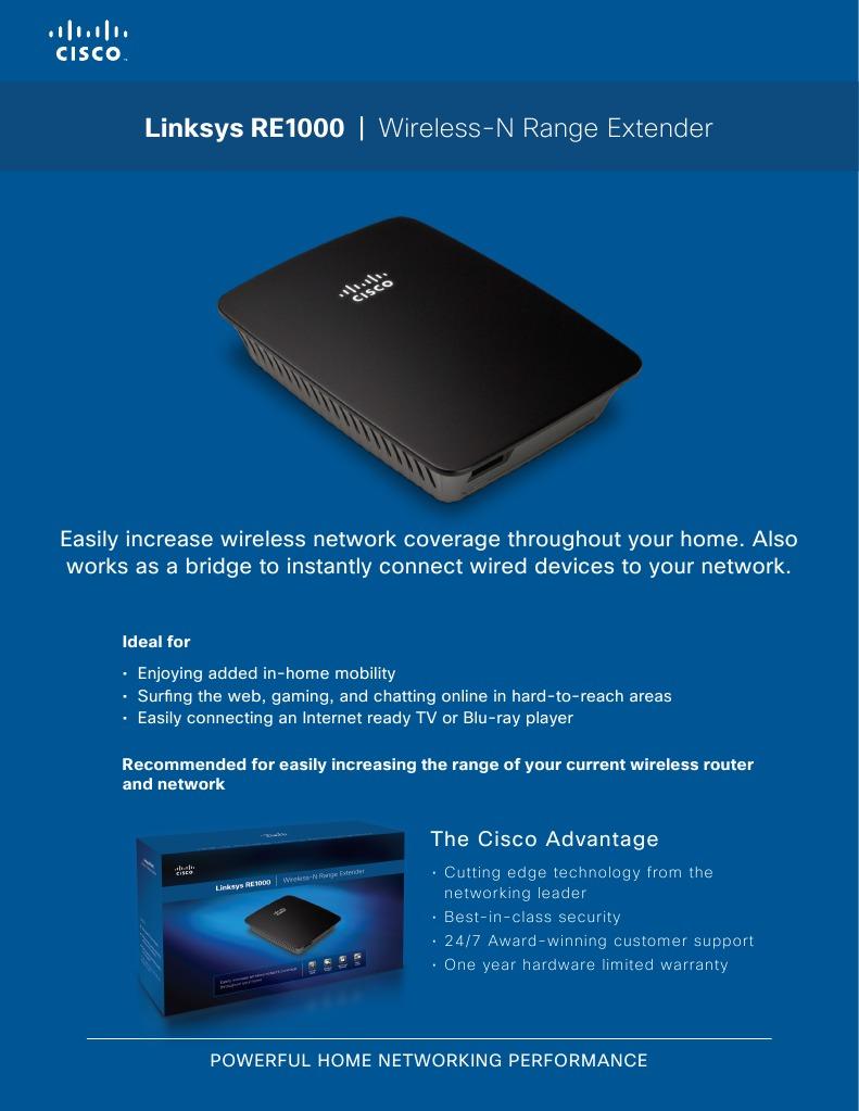 Re 1000 | Wi Fi | Wireless Access Point