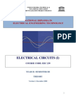 EEC 239 Electric Circuits 1