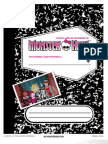 Monster High Activity Book Pg