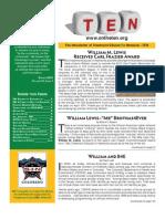 TEN Newsletter Spring 2012