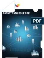 Intesis Software BACnet Products Catalog