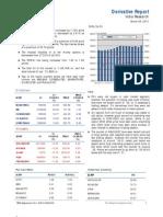 Derivatives Report 28th March 2012