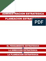 ADMON ESTRATEG-Planeacion Estrategica