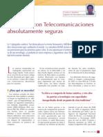 Telecomunicaciones seguras