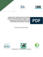 Resumen Carbono Fijado en Reserva de Biosfera Trifinio Guatemala2