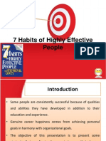 7 Habits Ppt @ Bec Doms Bagalkot Mba Hr