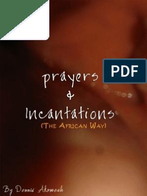 Incantation | Religion And Belief