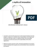 5myths of Innovation