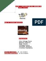 Manual de instalacion y configuracion del Servidor de correo POSTFIX