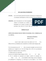 DECLARATORIA DE HEREDEROS