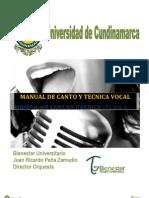 Manual de Canto y Tecnica Vocal