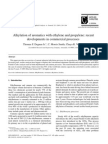 Alkylation of Aromatics With Ethylene and Propylene Recent Developments in Commercial Processes
