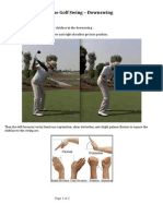 The Golf Swing – Downswing