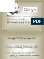 Driver Less Car Ppt