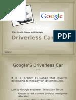 Driver Less Car Ppt