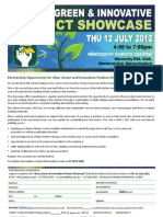 New Green & Innovative Product Showcase-Partner