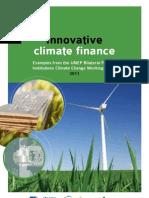 Innovative climate finance