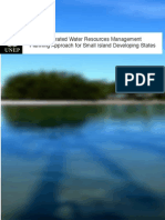 Resource book on IWRM Planning Approach for Small Island Developing States (SIDS)