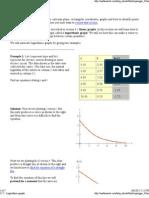 12.5 - Logarithmic Graphs