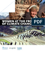 Women at the frontline of climate change - Gender risks and hopes