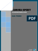 Zamora Spirit, Cuadernillos. (San Pedro)
