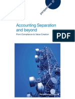 Accounting Separation and Beyond