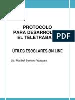 Protocolo Para Desarrollar El Teletrabajo
