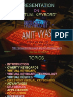 Presentation Virtual Keybord