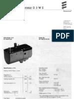 Hydronic D3WZ Heater English