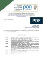 Bando Personale Interno PON C1 FSE 2011 3088