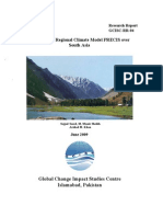Validation of Regional Climate Model PRECIS Over South Asia(GCISC-RR-04)