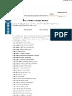 Word - Raccourcis Claviers