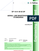 Aerial Line Maintenance Standards