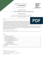 Freee Radical Metabolism in Human Erytrocttes