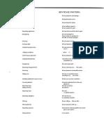 Vocabulary Supplementary