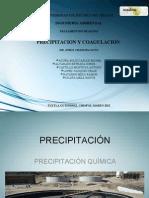 Expo. Precipitacion Coagulacion