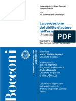 La percezione del diritto d'autore nell'era digitale. Un'analisi socio-giuridica - Simone Aliprandi e Andrea Rossetti
