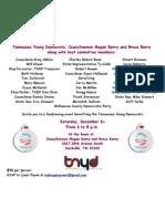 TNYD Fundraiser