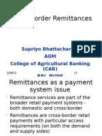 Cross Border Remittances