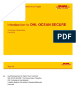 Customer Presentation - Introduction DHL OCEAN SECURE