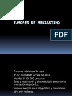 Cirugía de  Tumores Mediastinales