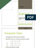 Kriptografi Vi-transposisi Cipher