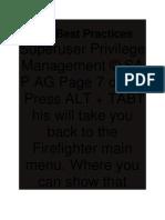 SAP Best Practices