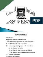 CCR - Calcul de coût de revient