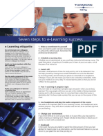 Seven Steps to E-Learning Success