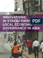 Innovations in Strengthening Local Governance in Asia