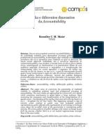 Mídia e diferentes dimensões da accountability