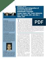Rubinstein-Evolution and Integration of Current Restorative Endo Concepts[1]
