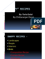 Snappy Recipes DSPA Presentation Mar 2012