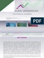 American Vanadium
